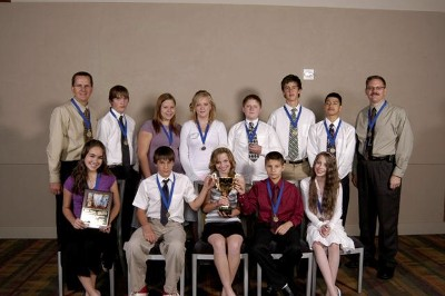 Mogollon Jr. High School Won Top Oral Hearing Prize at Project Citizen State Showcase